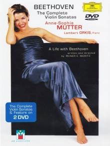 Beethoven: The Complete Violin Sonatas: - de Anne-sophie Mutter, Lambert Orkis