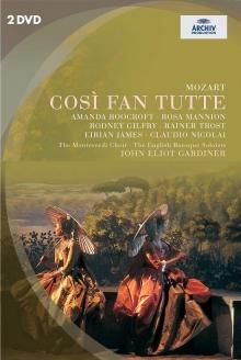 Mozart: Cosi Fan Tutte - de John Eliot Gardiner, English Baroque Soloists, The Monteverdi Choir