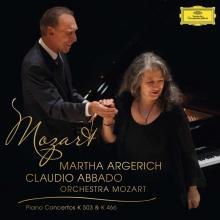 Mozart:Piano Concertos K503&466  - de Martha Argerich/Claudio Abbado/Orchestra Mozart