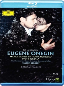 Tchaikovsky:Eugene Onegin - de Mariusz Kwiecien,Anna Netrebko,Piotr Beczala