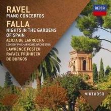 Ravel:Piano concertos,Falla:Nights in the Gardens of Spain - de Alicia de Larrocha,London Philharmonic Orchestra