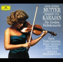 The Great Violin Concertos - de Anne-sophie Mutter, Berliner Philharmoniker, Herbert Von Karajan