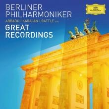 Great Recordings - de Berliner Philharmoniker-Abbado-Karajan-Rattle