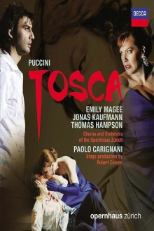 Puccini: Tosca - de Emily Magee,Jonas Kaufmann,Thomas Hampson-Orchestra of the Opernhaus Zurich-Paolo Carignan