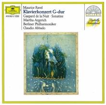 Ravel: Piano Concerto In G; Gaspard De La Nuit; Sonatine - de Martha Argerich, Berliner Philharmoniker, Claudio Abbado