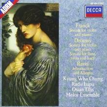 Debussy / Franck / Ravel: Sonata For Flute, Viola & Harp / Sonata For Violin & Piano Etc. - de Kyung Wha Chung, Radu Lupu, Osian Ellis
