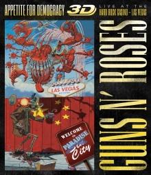 Appetite for Democracy-3D Live at the Hard Rock Casino-Las Vegas 1992 - de Guns N Roses