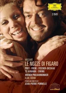 Mozart: Le Nozze di Figaro - de Hermann Prey, Mirella Freni, Dietrich Fischer-dieskau