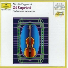 Paganini: 24 Capricci - de Salvatore Accardo