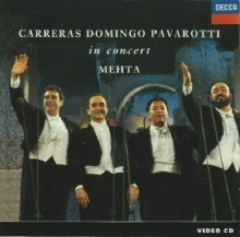 The Three Tenors - In Concert - Rome 1990 - de José Carreras, Plácido Domingo, Luciano Pavarotti