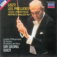 Liszt:Les Preludes/Tassi/Prometheus/Mephisto - de Sir Georg Solti/London Philharmonic Orchestra