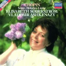 Chopin:Songs-Melodies-Lieder - de Vladimir Ashkenazy