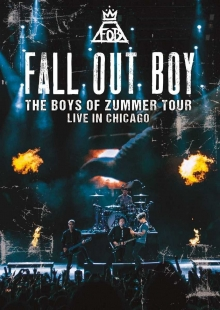 The Boys of Zummer Tour-Live in Chicago - de Fall out boy