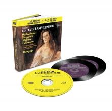 Donizetti: Lucia Di Lammermoor - de Suthertland,Pavarotti,Milnes,Ghiaurov,Chorus and Orchestra of the Royal Opera House Covent Garden,Richard Bonynge