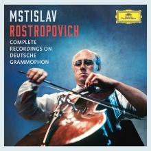 Complete Recordings on Deutsche Grammophon - de Mstislav Rostropovich