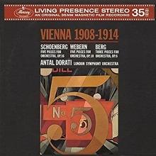Vienna 1908-1914 - de Antal Dorati,London Symphony Orchestra