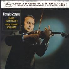 Henryk Szeryng:Brahms:Violin Concerto in D major op.77 - de Antal Dorati,London Symphony Orchestra