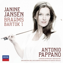 Janine Jansen:Brahms/Bartok - de Janine Jansen,Antonio Pappano,London Symphony Orchestra