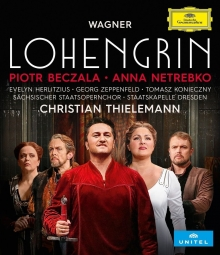 Wagner:Lohengrin - de Evelyn Herlitzius,Georg Zeppenfield,Tomasz Konieczny/Staatskapelle Dresden/Christian Thielemann