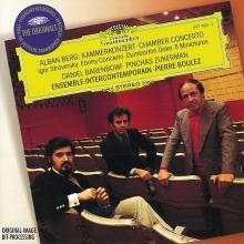 Berg: Chamber Concerto / Stravinsky: Ebony Concerto; Dumbarton Oaks; 8 Miniatures - de Ensemble Intercontemporain, Pierre Boulez
