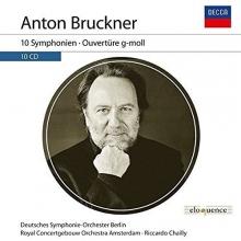 10 SYMPHONIEN; OUVERTRE G-MOLL - de ANTON BRUCKNER