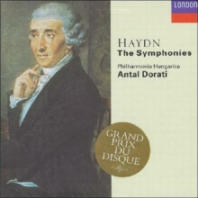 Haydn: The Symphonies - de Philharmonia Hungarica, Antal Doráti