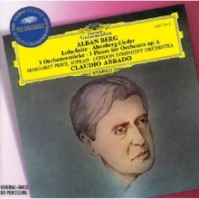 Berg: Lulu-suite; Altenberg-lieder; 3 Pieces For Orchestra Op.6 - de London Symphony Orchestra, Claudio Abbado