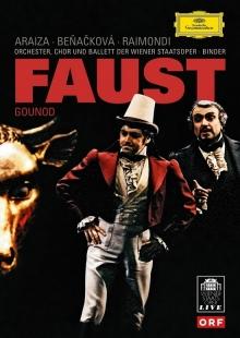 Gounod: Faust - de Gabriela Benackova, Francisco Araiza, Ruggero Raimondi