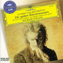 Beethoven: The Late Piano Sonatas - de Maurizio Pollini