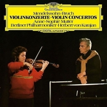 Mendelssohn - Bruch Violinkonzerte Violin Concertos - de Berliner Philharmoniker, Anne-Sophie Mutter,Herbert Von Karajan