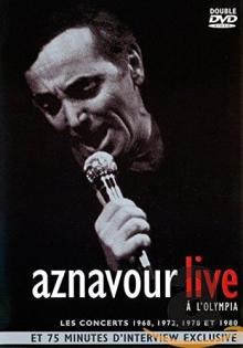 Live a L\'Olympia-Les Concerts 1968,1972,1978 et 1980 - de Charles Aznavour