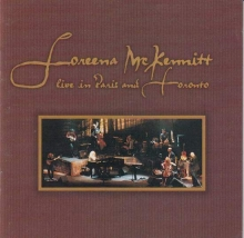 Live in Paris and Toronto - de Loreena McKennitt