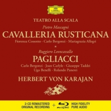 Mascagni: Cavalleria rusticana - Leoncavallo: Pagliacci - de Herbert von Karajan