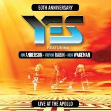 Live at The Apollo-50 th Anniversary - de Yes feat.Jon Anderson,Trevor Rabin,Rick Wakeman