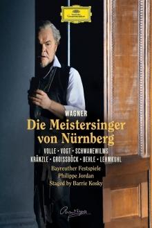 Wagner:Die Meistersinger von Nurnberg - de Michael Volle,Gunther Groissbock,Johannes Martin Kranzle,Klaus Florian Vogt-Bazreuther Festspiele-Philippe Jordan