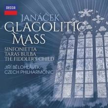 Jancek:Glagolitic Mass-Taras Bulba - de Jiri Belohlavek-Praque Philharmonic Choir
