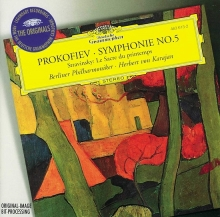 Prokofiev: Symphony No.5 / Stravinksy: Le Sacre Du Printemps - de Berliner Philharmoniker, Herbert Von Karajan