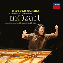 Mozart:Piano Concertos no.18 K456& no.19 K459 - de Mitsuko Uchida-The Cleveland Orchestra