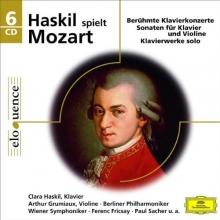 Haskil spielt Mozart:Sonaten fur Klavier und Violine - de Clara Haskil,Arthur Grumiaux,Berliner Philharmoniker
