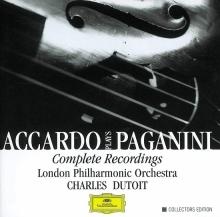 Accardo Plays Paganini- Complete Recordings - de Salvatore Accardo, London Philharmonic Orchestra, Charles Dutoit