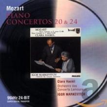 Mozart: Piano Concertos Nos.20 & 24 - de Clara Haskil, Orchestre Des Concerts Lamoureux, Igor Markevitch