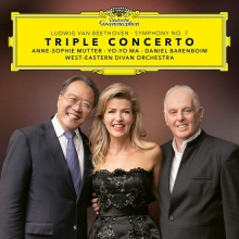 Beethoven:Symphony no.7-Triple Concerto - de Anne-Sophie Mutter,Yo-Yo Ma,Daniel Barenboim,West-Eastern Divan Orchestra
