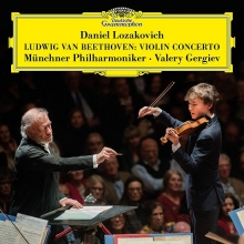 Beethoven:Violin Concerto - de Daniel Lozakovich/Munchner Philharmoniker/Valery Gergiev