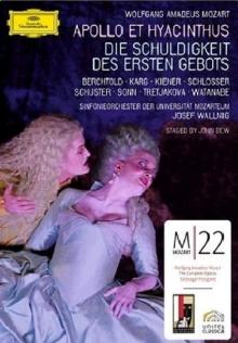 Mozart: Appollo Et Hyacinthus; Die Schuldigkeit Des Ersten Gebotes - de Sinfonieorchester Der Universität Mozarteum, Josef Wallnig