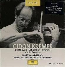 Beethoven - Schumann - Brahms: Complete Violin Sonatas - de Gidon Kremer