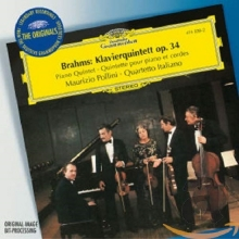 Brahms: Piano Quintet Op.34 - de Maurizio Pollini, Quartetto Italiano