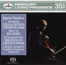 Dvorak: Cello Concerto - de János Starker, London Symphony Orchestra, Antal Doráti