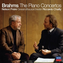 Brahms: The Piano Concertos - de Nelson Freire, Gewandhausorchester Leipzig, Riccardo Chailly