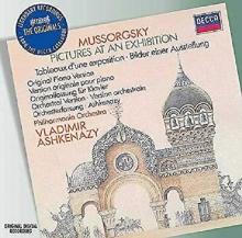 Mussorgsky: Pictures At An Exhibition - de Vladimir Ashkenazy, Philharmonia Orchestra, Vladimir Ashkenazy