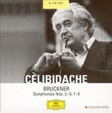 Bruckner: Symphonies Nos. 3-5; 7-9 - de Sergiu Celibidache